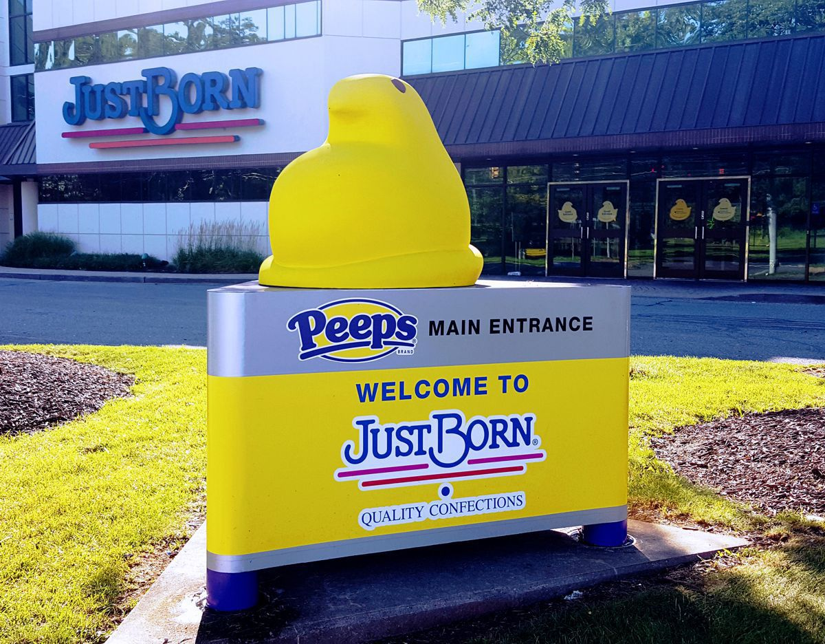 Outdoor advertising for PEEPS
