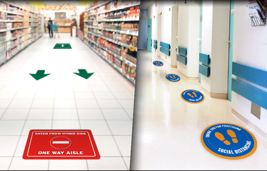 Floor Sign In Concord - Sign Source Solution