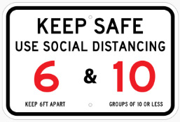 Keep Safe Sign In Concord - Sign Source Solution