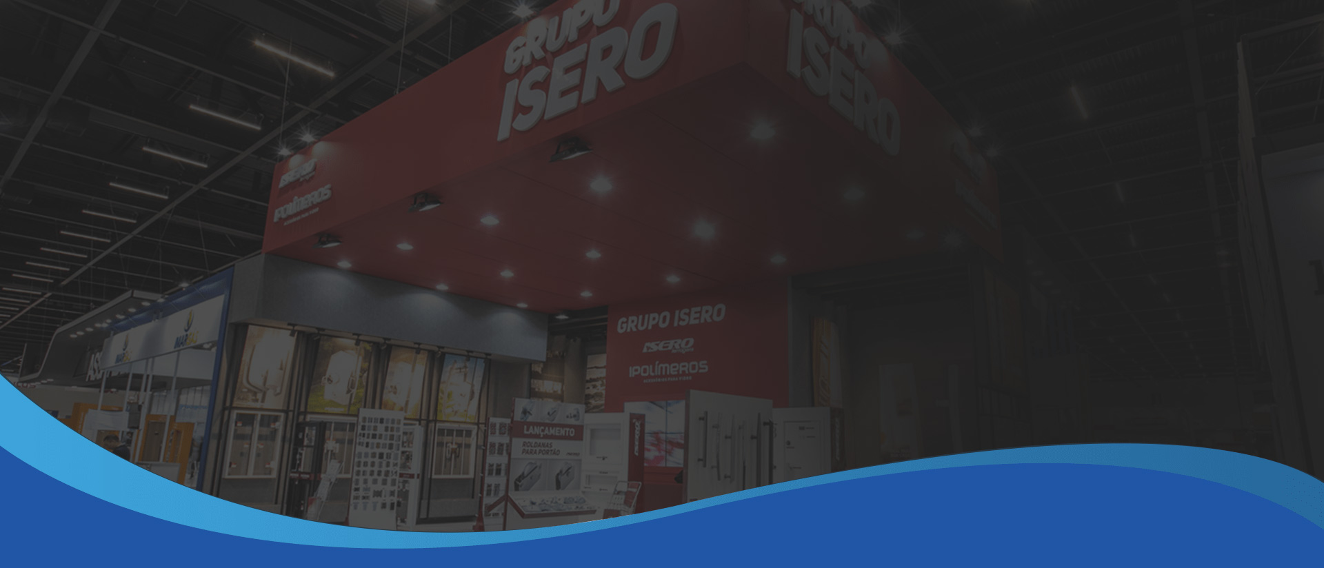 Grupo Isero Trade Show Display In Concord - Sign Source Solution